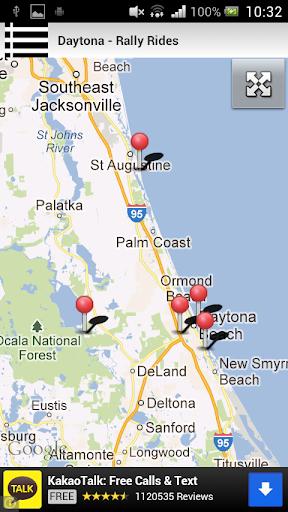 Daytona - Rally Rides