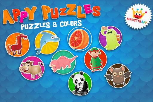 Appy Puzzles - 拼图和色彩为孩子