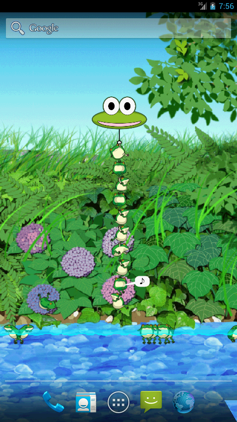 Jumping frogs - Trial- screenshot