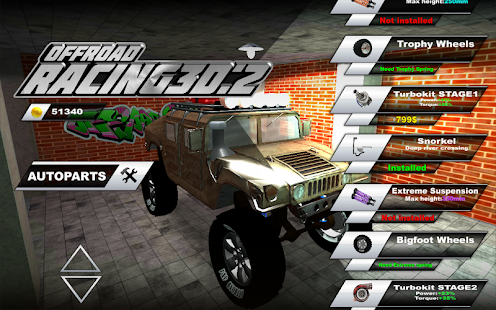 Offroad Racing 3d:2- screenshot thumbnail
