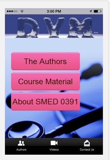 SMED 0391 - Intro to Vet Med