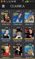Screenshot of Classica - Magazine