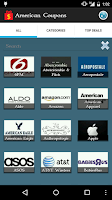 Screenshot of American Coupons