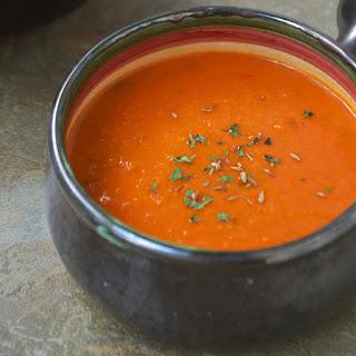Spicy Goji Berry Soup.