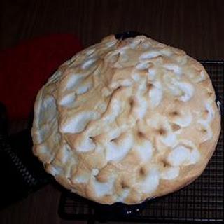 Old Fashioned Lemon Pie.