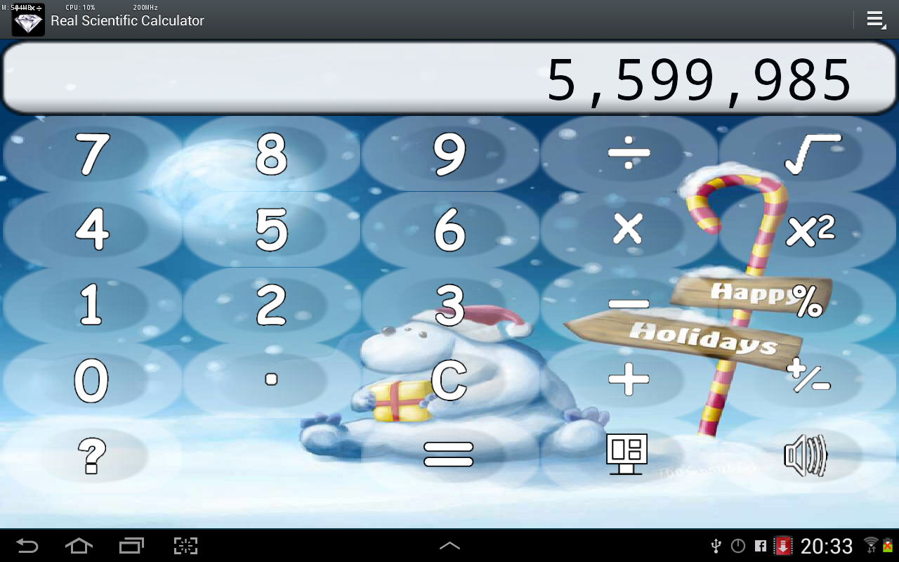 Diamond Calculator SAT HD - screenshot