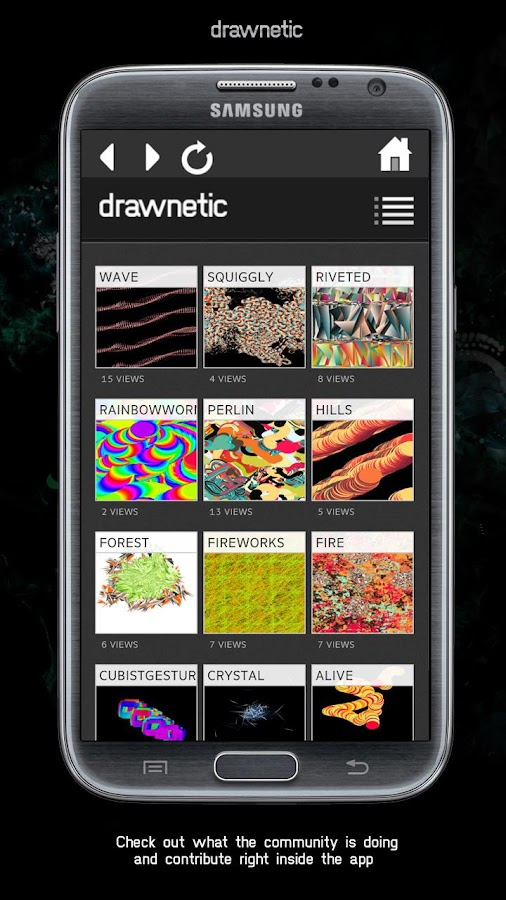 DRAWNETIC – KINETIC DRAWING - screenshot