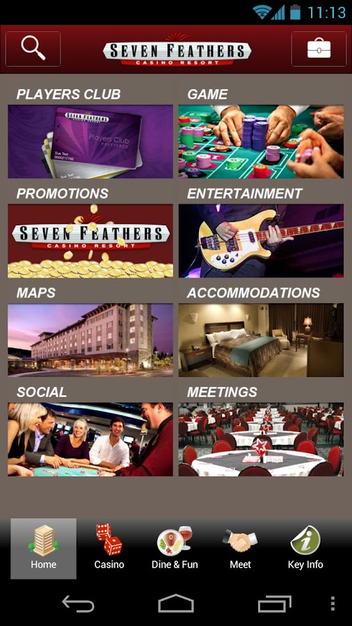 Seven Feathers Casino- screenshot
