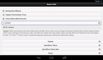 Screenshot of Plat Nomor Polisi