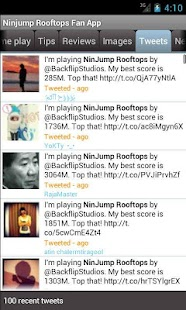 Ninjump Rooftops Fan App - screenshot thumbnail