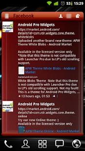 APW Theme Red Wine- screenshot thumbnail