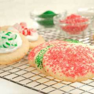 Buttery Holiday Cookies.