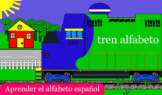 Free ABC Train Spanish