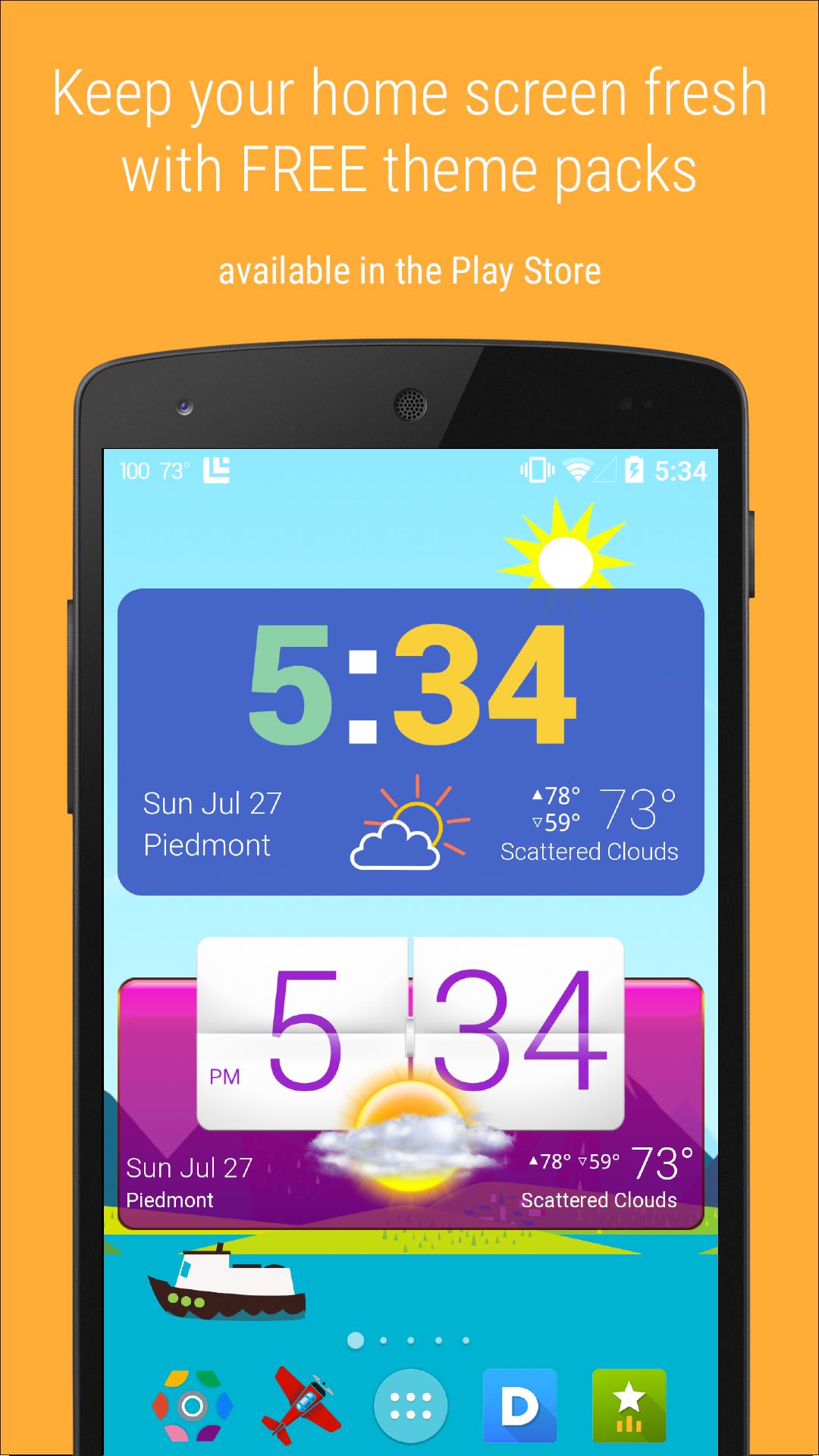 HD Widgets screenshot #7