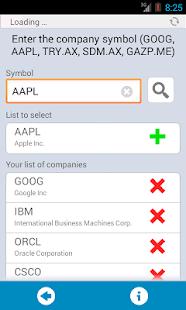 Stock Exchange lite- screenshot thumbnail