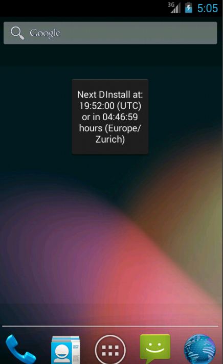 DebianDroid - screenshot