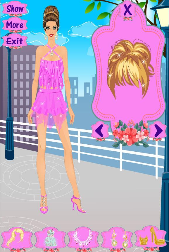 Fashion Dress Up Game - screenshot