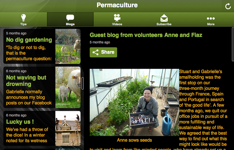 Permaculture - screenshot