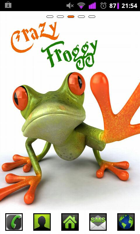 Froggy HD GO Launcher Ex Theme - Android Apps on Google Play480