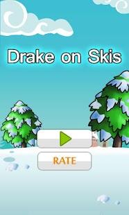 Drake on Skis
