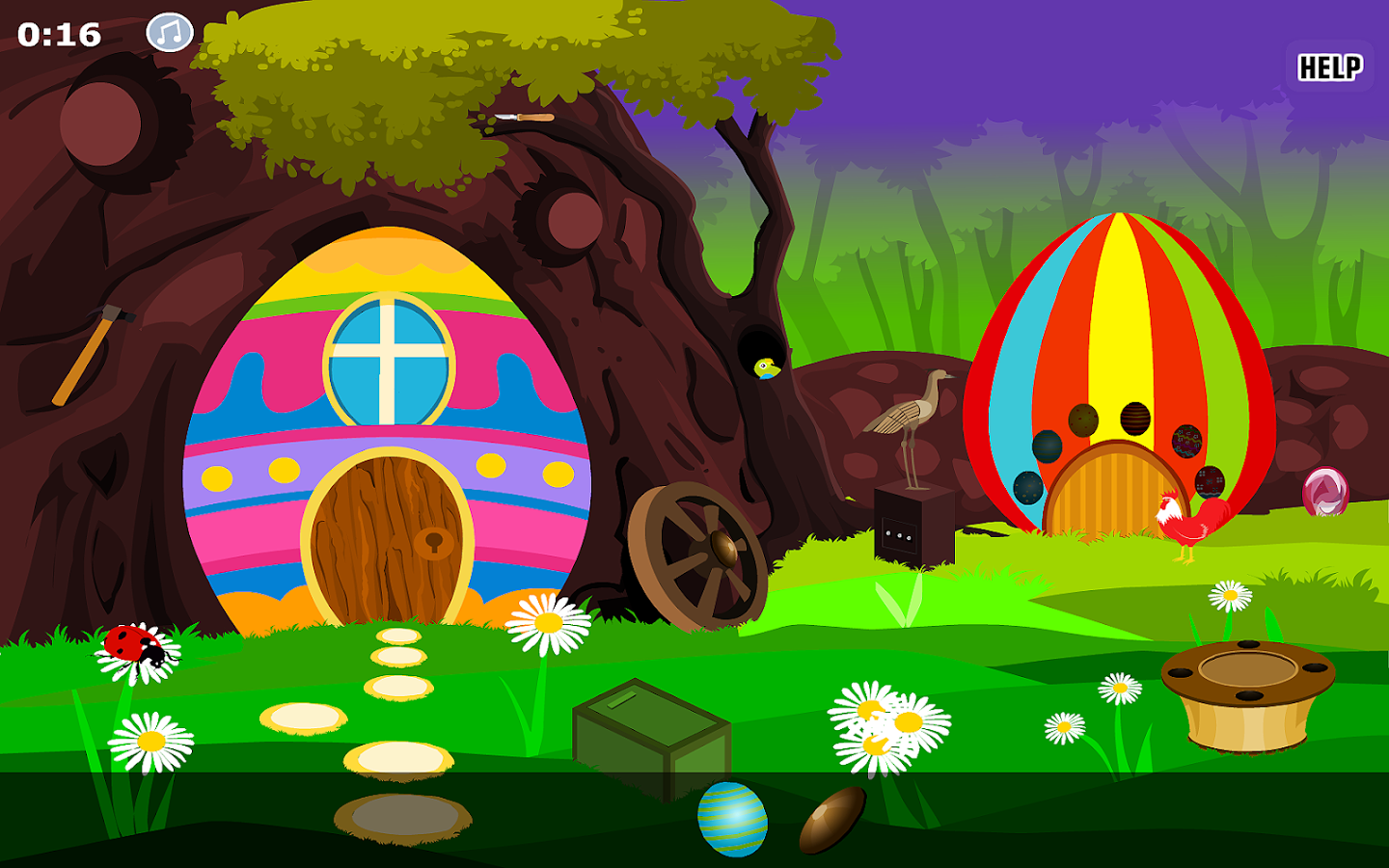 Escape Egg House- screenshot