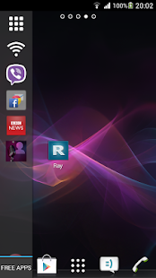 Ray Sidebar Launcher Screenshot