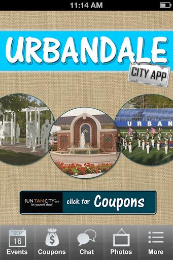 Urbandale City App