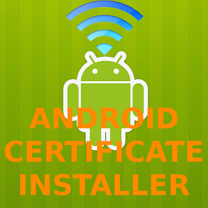 Free Apk android  Certificate Installer 1.1.1  free updated on
