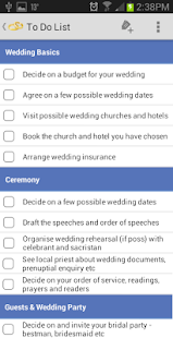 Irish Wedding Planner- screenshot thumbnail