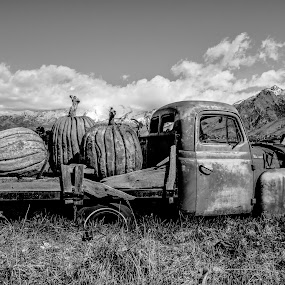 Old Truck by Cameron Knudsen - Black & White Objects & Still Life (  )