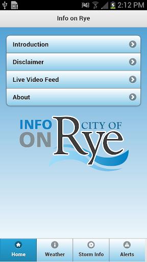 Info on Rye - City of Rye NY