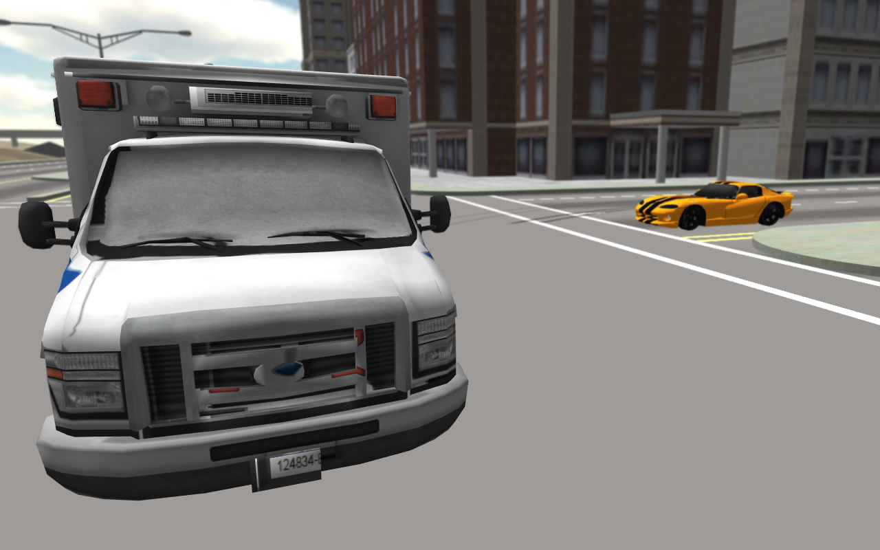 Extreme Ambulance Driving 3D- screenshot