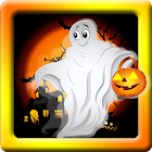 Halloween ghost the game icon