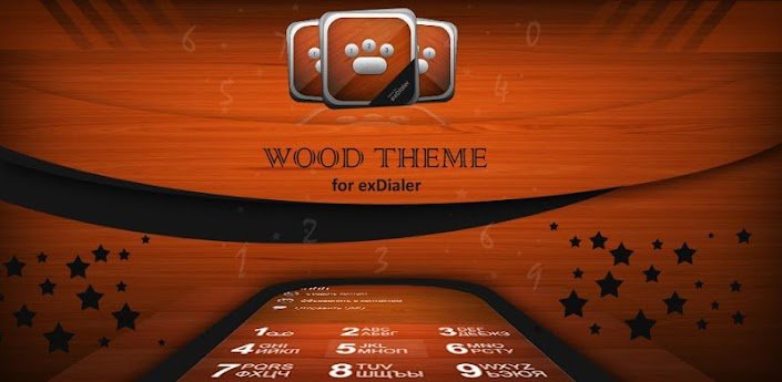 Software Releases • wood theme for exdialer 1.0