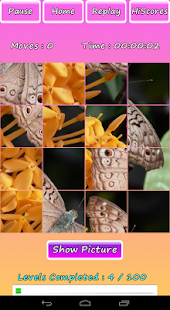 Butterfly Photo Puzzle Screenshot 9