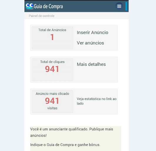 Guia de Compra Mobile- screenshot