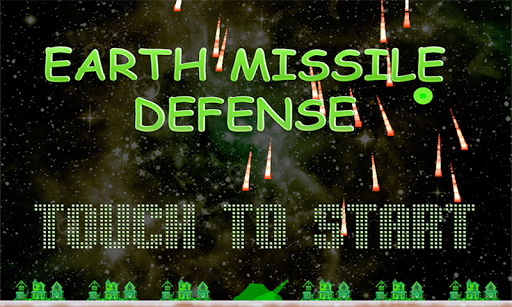 Earth Missile Defense Game