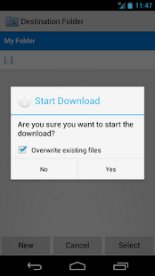 Folder Downloader for Dropbox - screenshot thumbnail