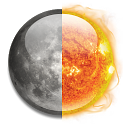 Sun and Moon icon