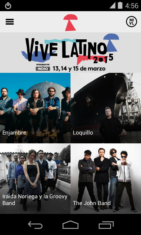 Vive Latino 2015 - screenshot