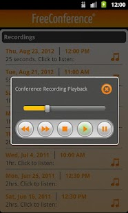 FreeConference Mobile - screenshot thumbnail