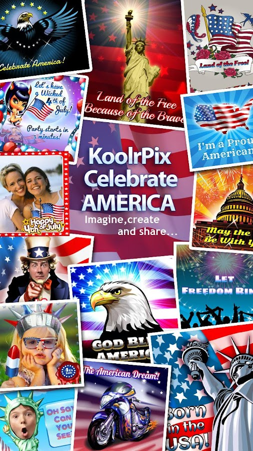 KoolrPix Celebrate AMERICA- screenshot