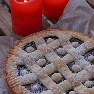Quince Compote Pie
