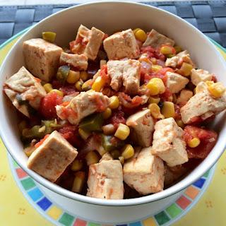 Dad's Southwest Tofu Bowl