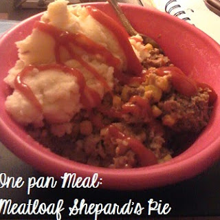Meatloaf Shepard's Pie