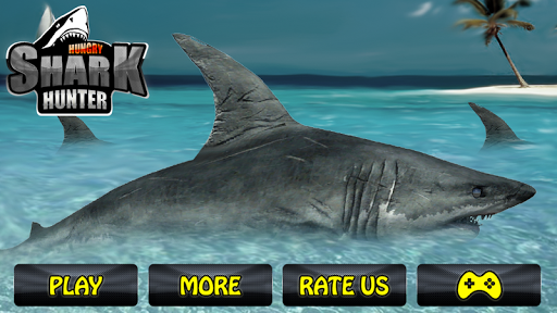 Hungry Shark Hunter - 3D Game