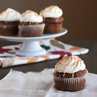 Pumpkin Spice Latte Cupcakes.