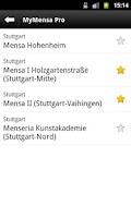 Screenshot of MyMensa