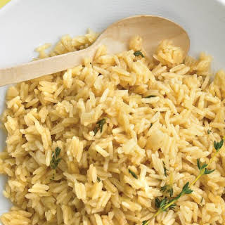 Rice Pilaf with Thyme.