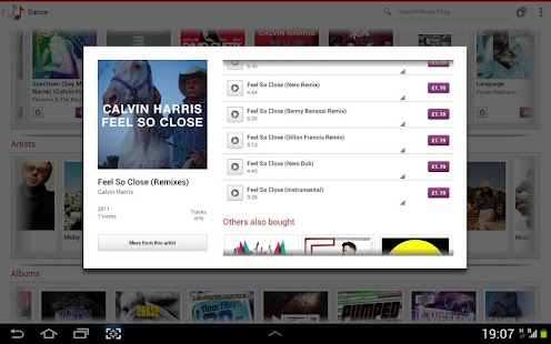 Vodafone Music Shop - screenshot thumbnail
